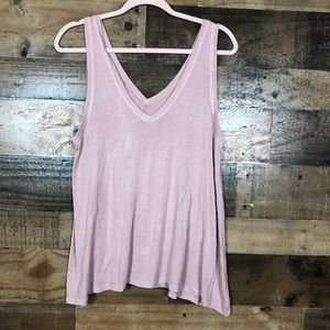 American eagle pink soft & sexy tank top